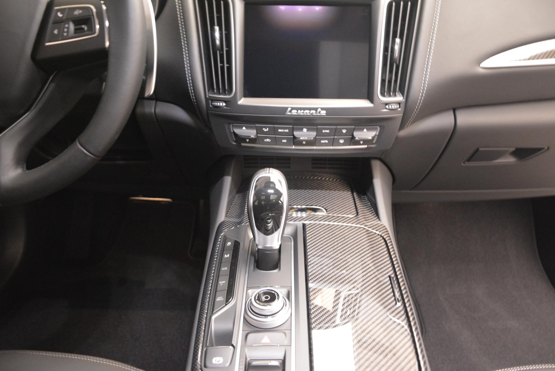 New 2017 Maserati Levante 350hp For Sale In Westport, CT 584_p29