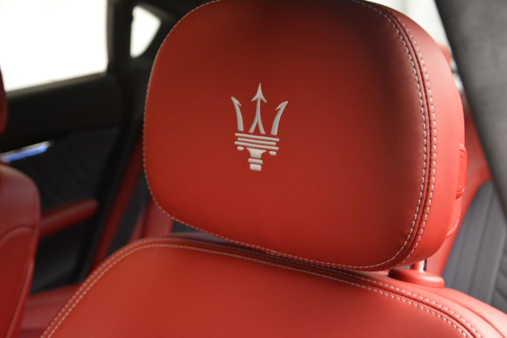 New 2017 Maserati Quattroporte S Q4 GranLusso For Sale In Westport, CT 585_p17
