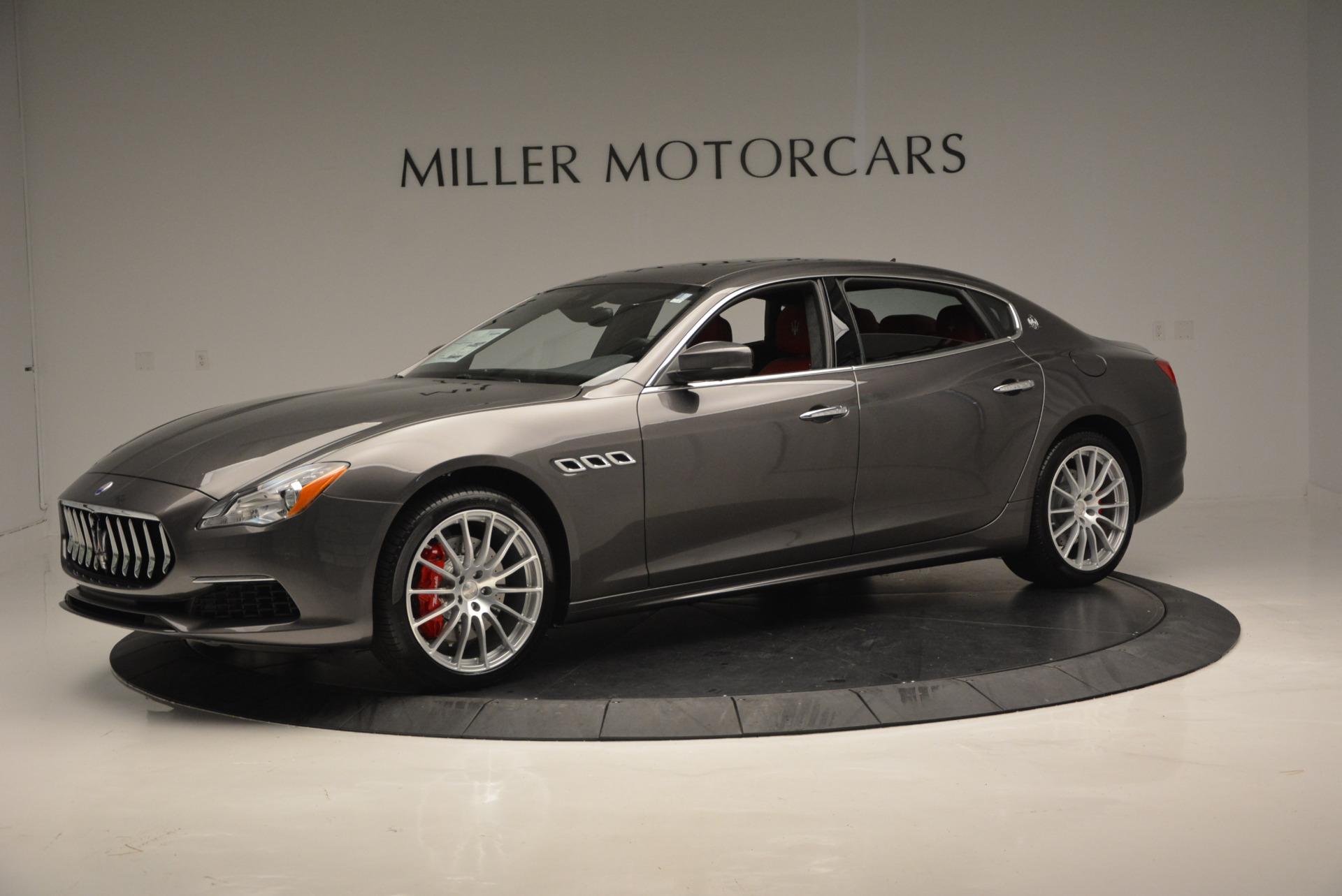 New 2017 Maserati Quattroporte S Q4 GranLusso For Sale In Westport, CT 585_p2