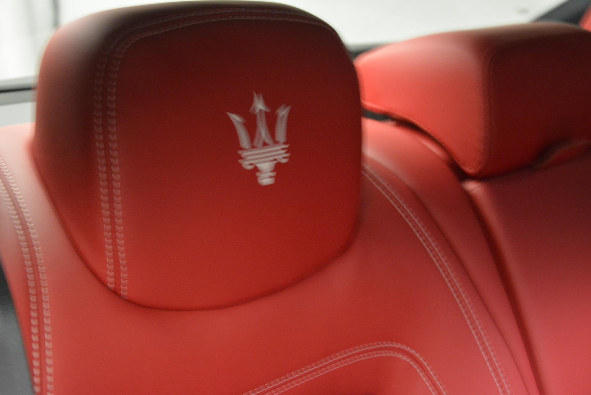 New 2017 Maserati Quattroporte S Q4 GranLusso For Sale In Westport, CT 585_p32