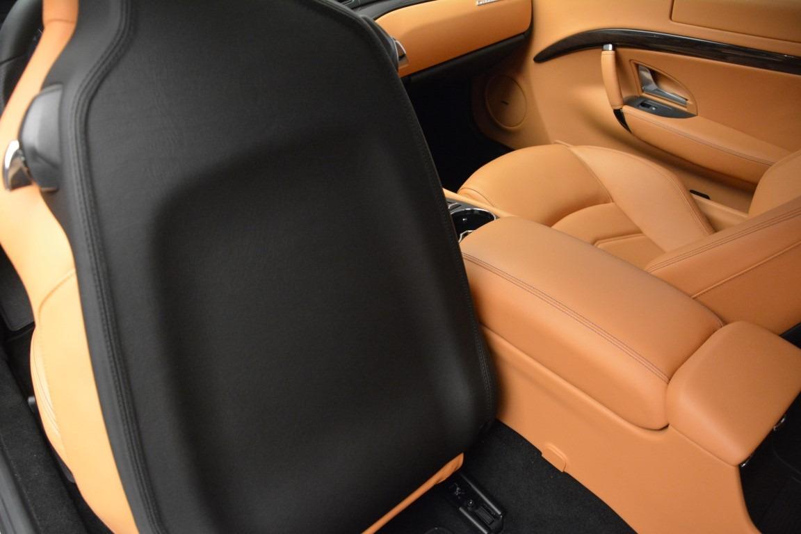 New 2017 Maserati GranTurismo Sport For Sale In Westport, CT 590_p16