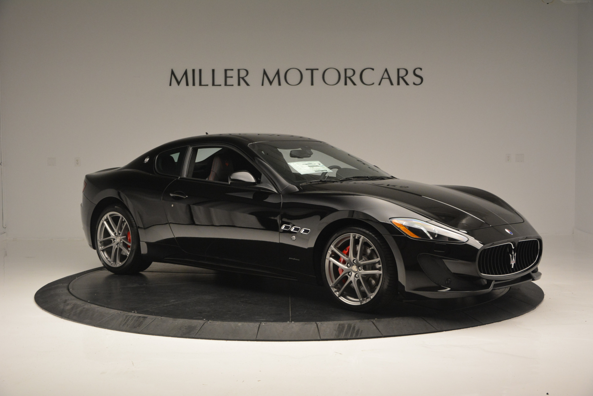 New 2016 Maserati GranTurismo Sport For Sale In Westport, CT 592_p10