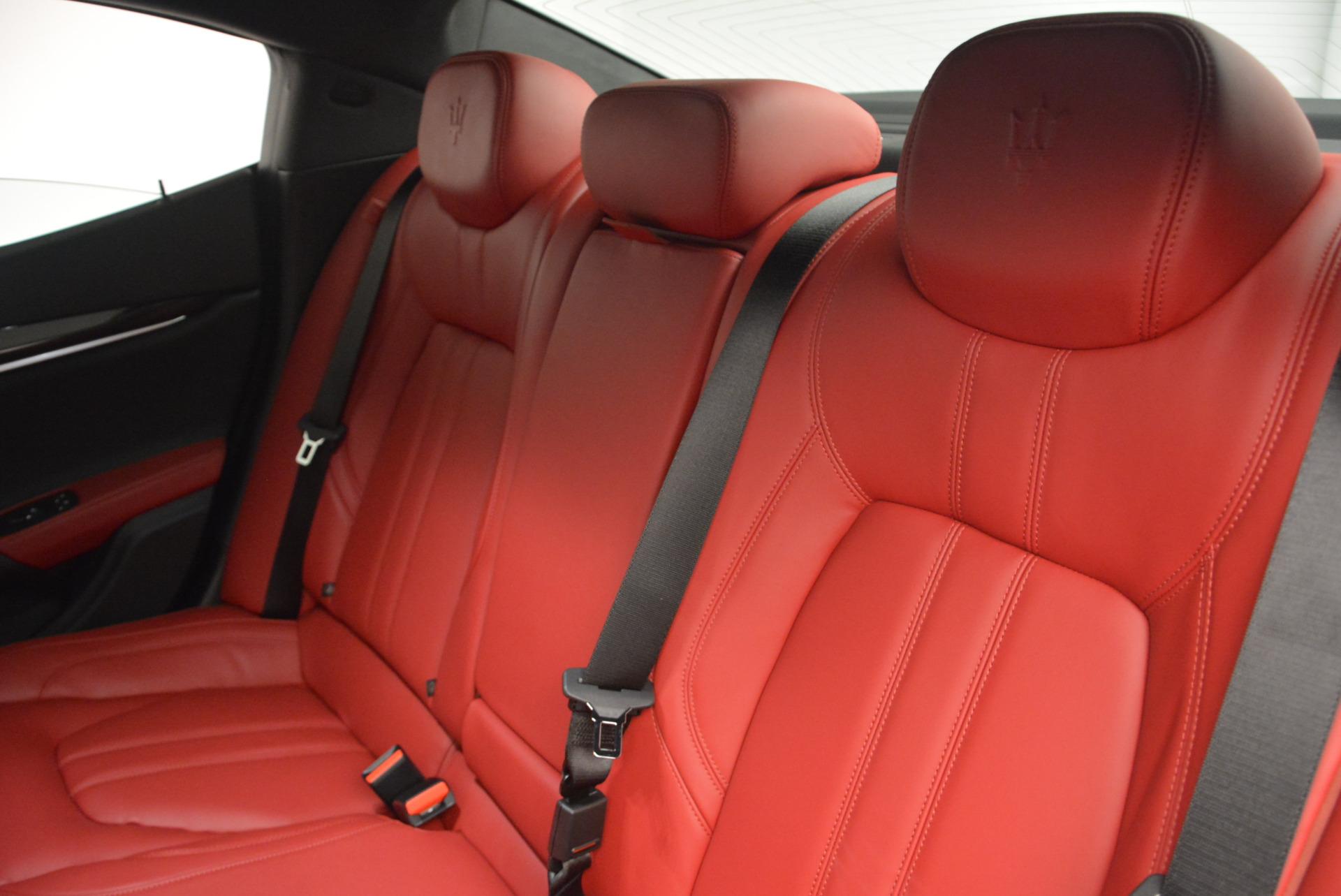 New 2017 Maserati Ghibli S Q4 For Sale In Westport, CT 599_p20