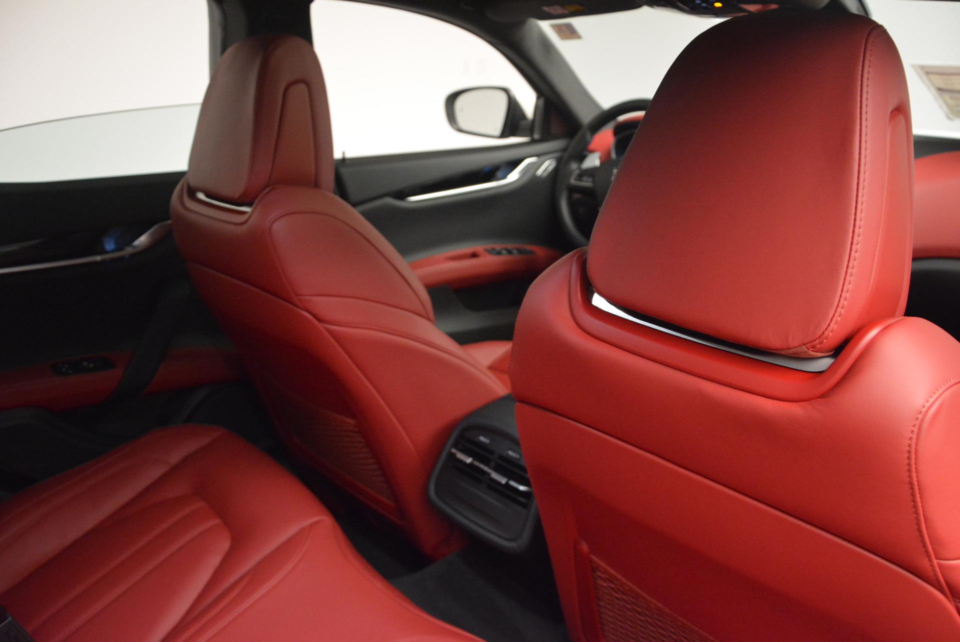 New 2017 Maserati Ghibli S Q4 For Sale In Westport, CT 599_p26