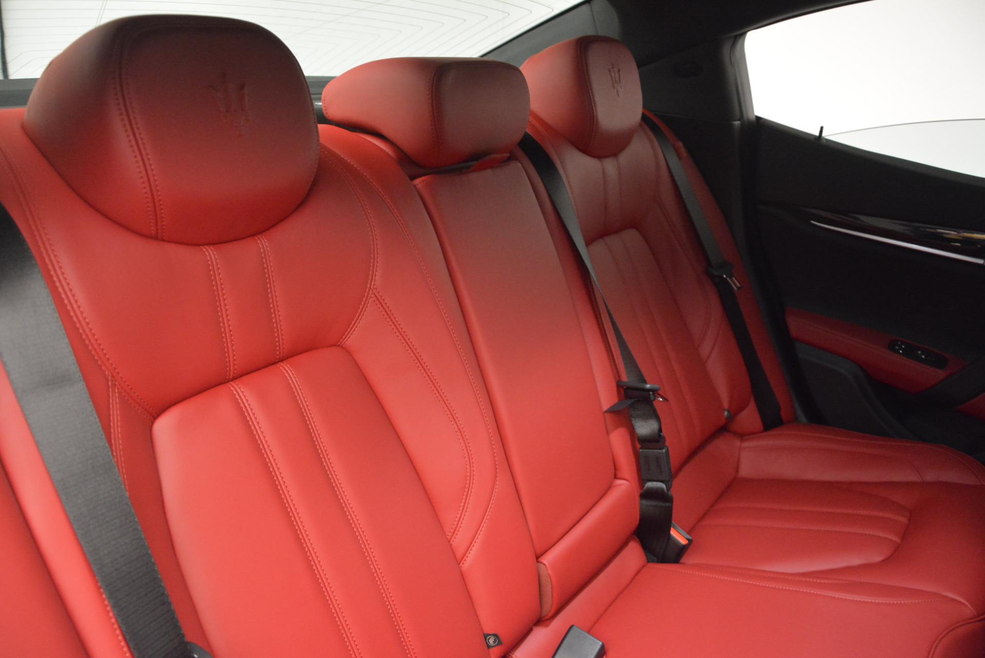 New 2017 Maserati Ghibli S Q4 For Sale In Westport, CT 599_p28