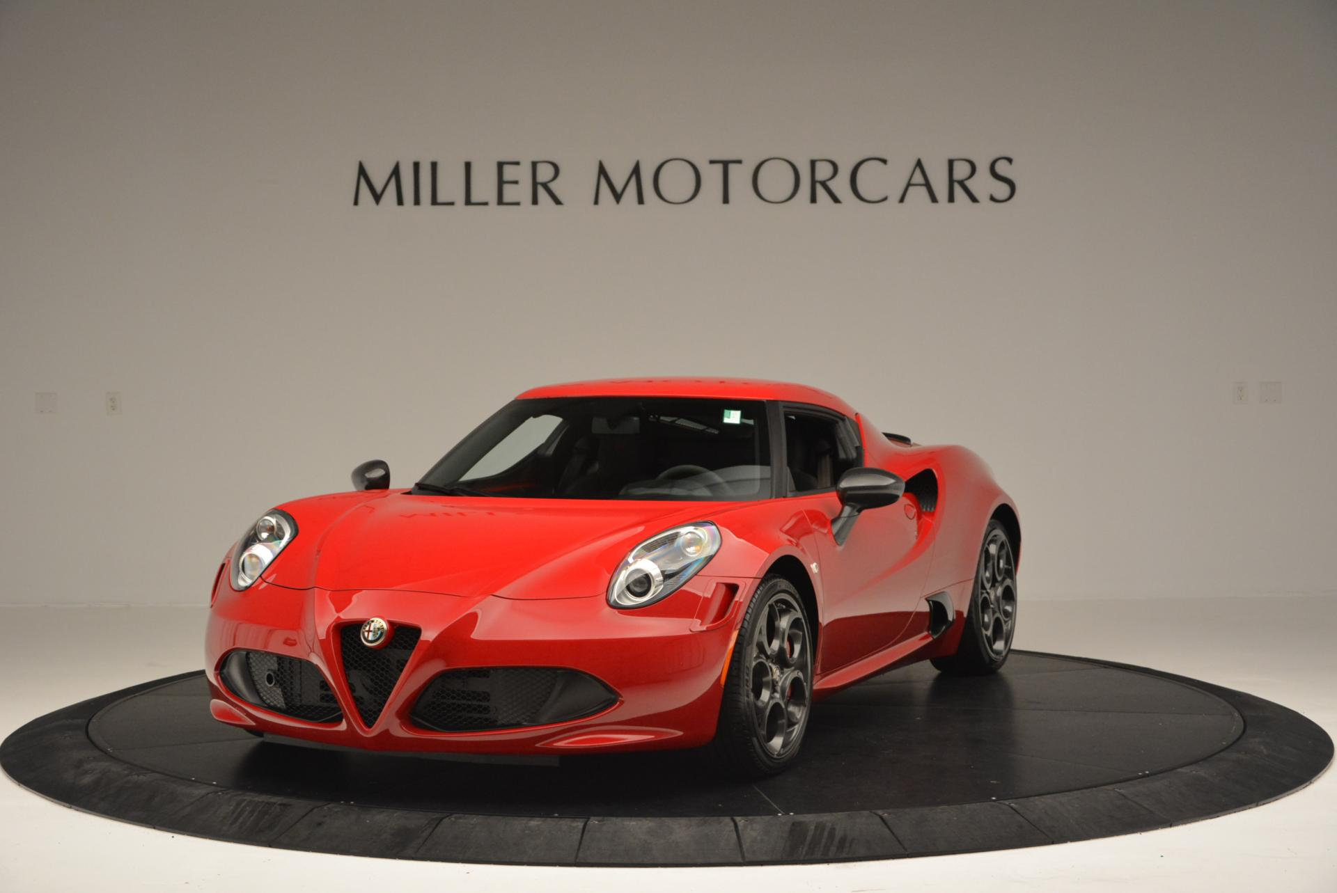 Used 2015 Alfa Romeo 4C Launch Edition For Sale In Westport, CT 6_main
