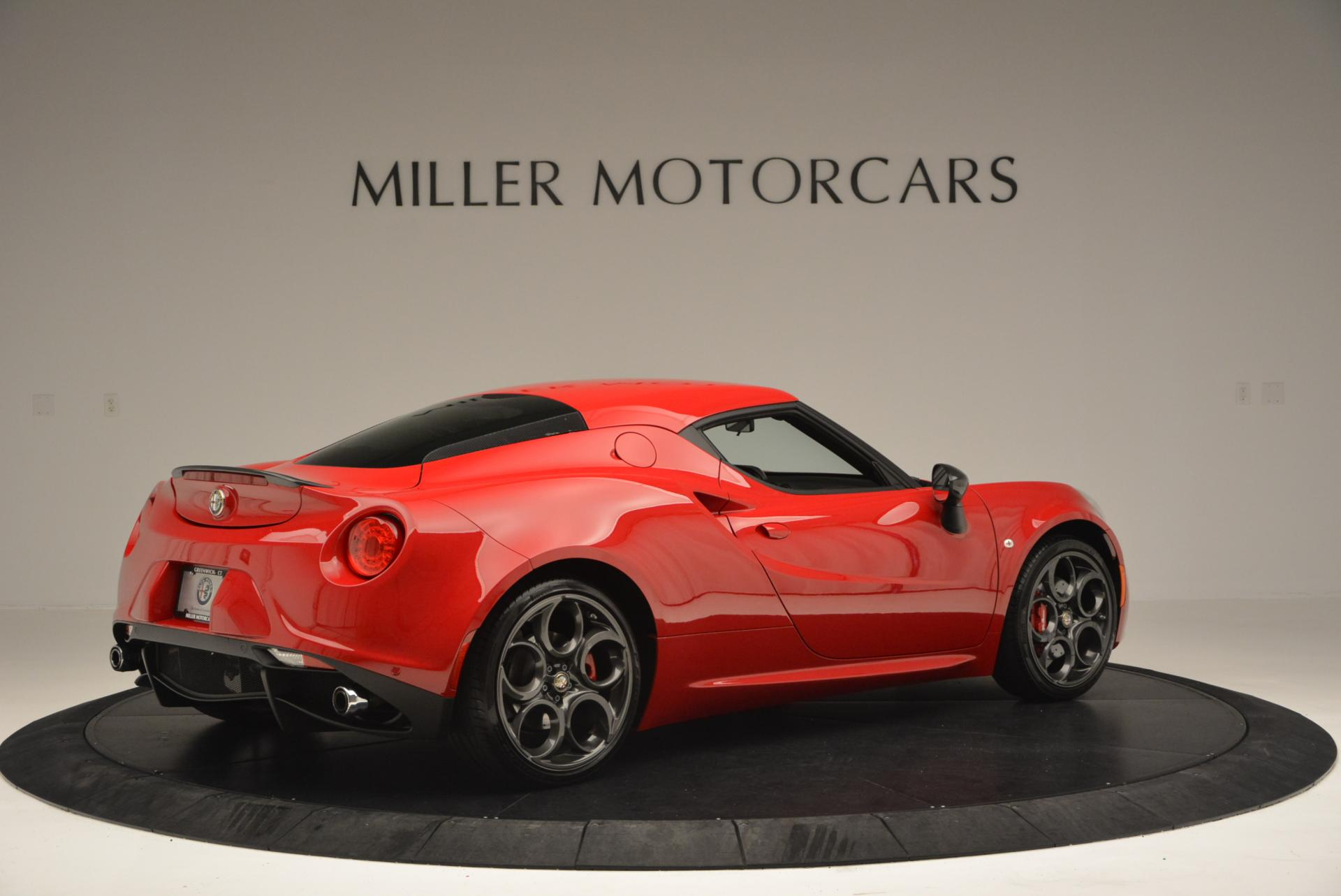 Used 2015 Alfa Romeo 4C Launch Edition For Sale In Westport, CT 6_p8