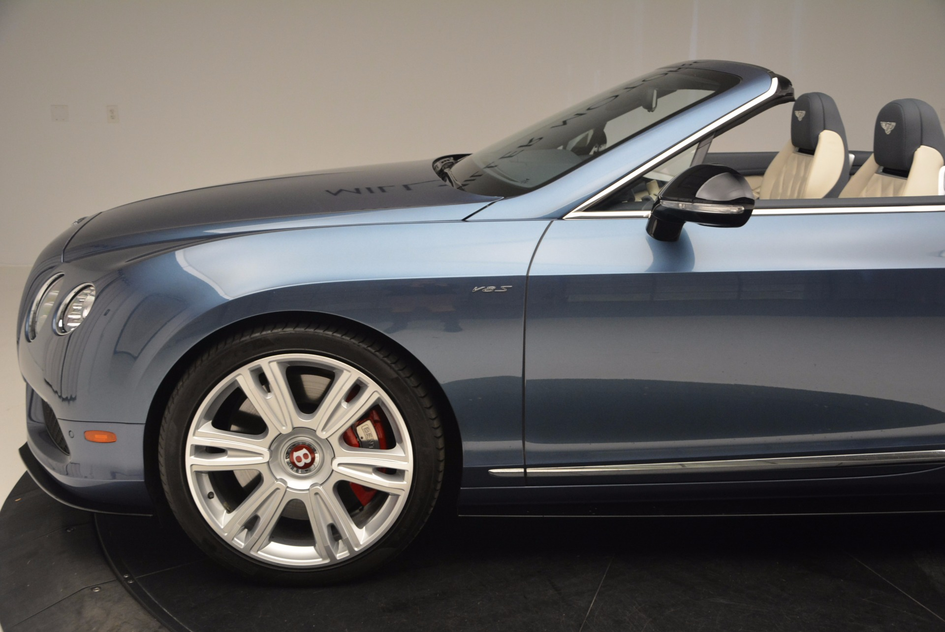 Used 2014 Bentley Continental GT V8 S Convertible  For Sale In Westport, CT 600_p26