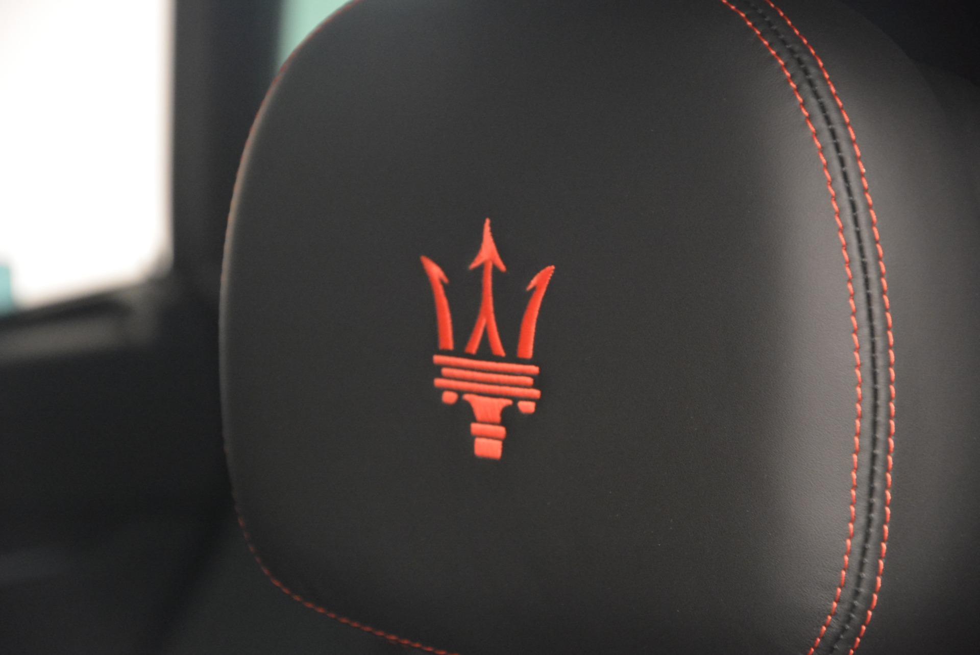 New 2017 Maserati Levante  For Sale In Westport, CT 602_p19