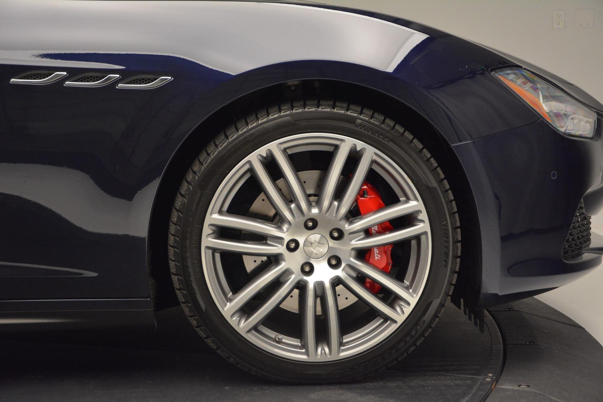 New 2017 Maserati Ghibli S Q4 For Sale In Westport, CT 607_p27
