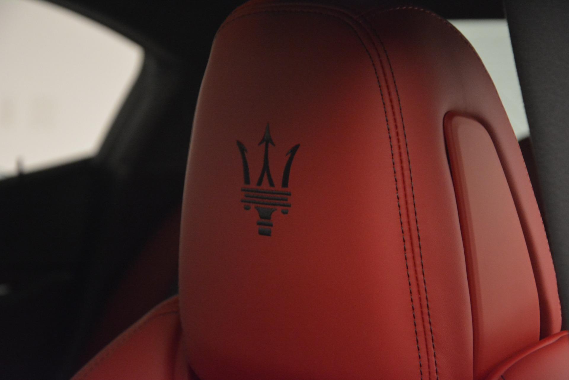 New 2017 Maserati Ghibli S Q4 For Sale In Westport, CT 610_p21