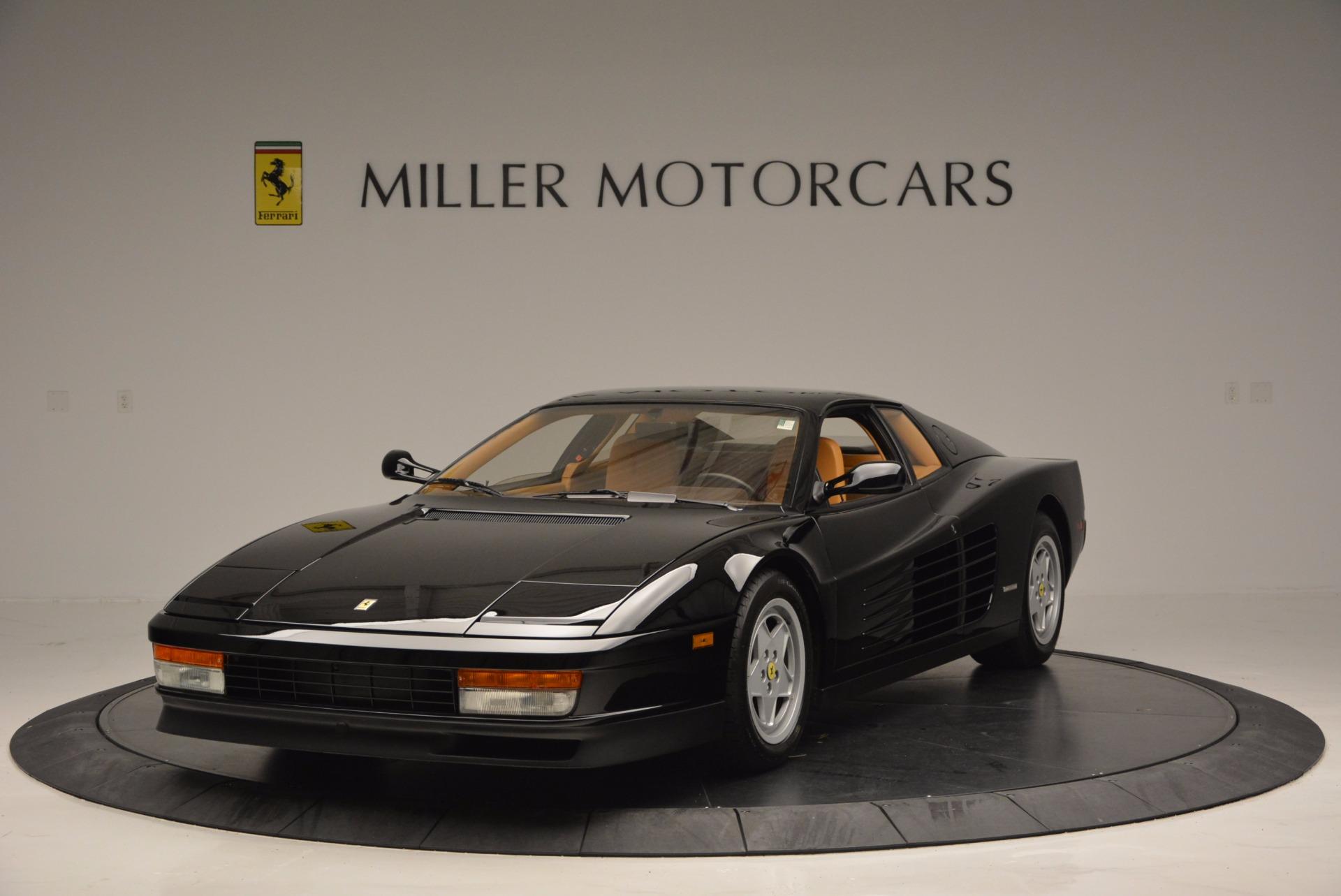 Used 1989 Ferrari Testarossa  For Sale In Westport, CT 622_main