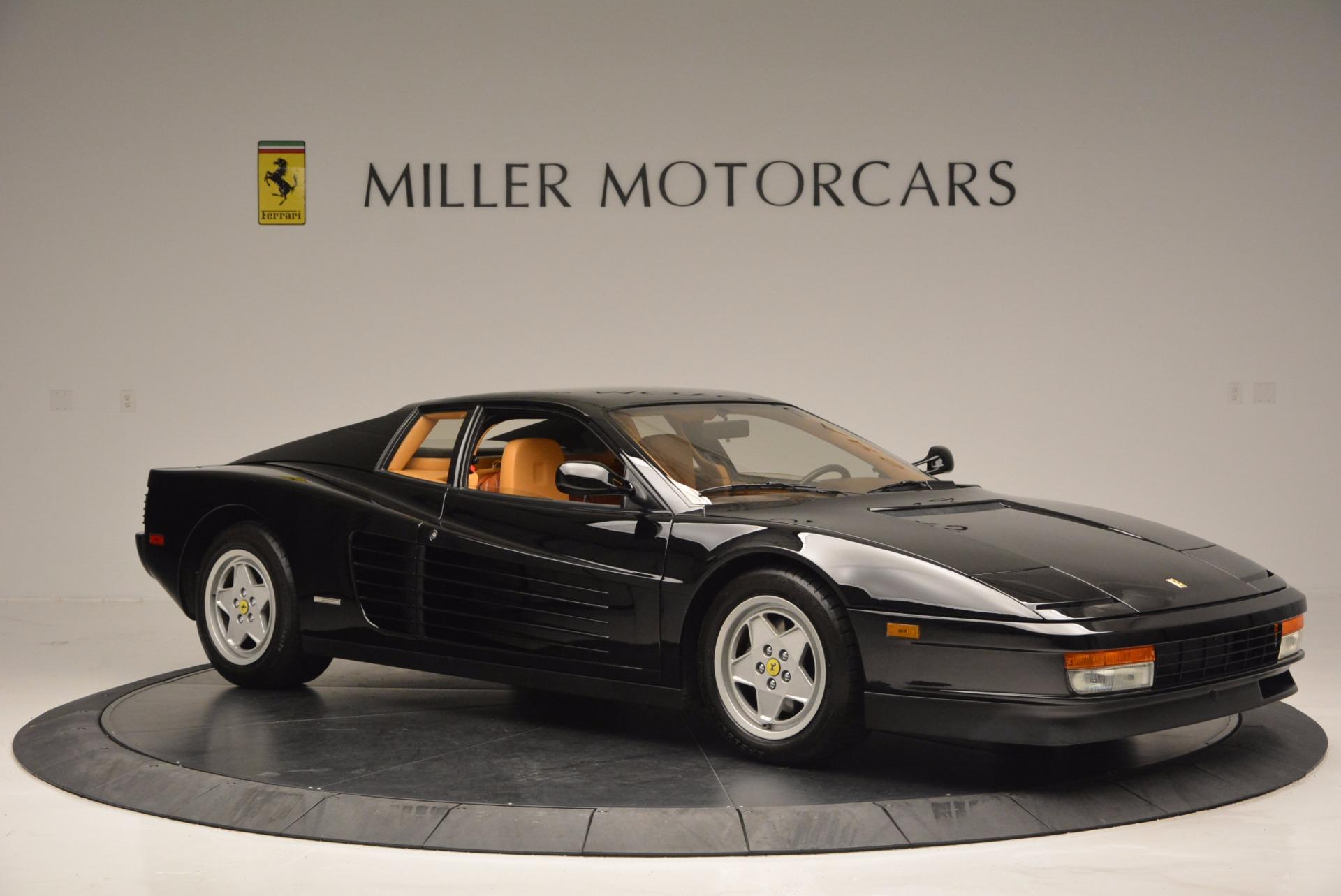 Used 1989 Ferrari Testarossa  For Sale In Westport, CT 622_p10