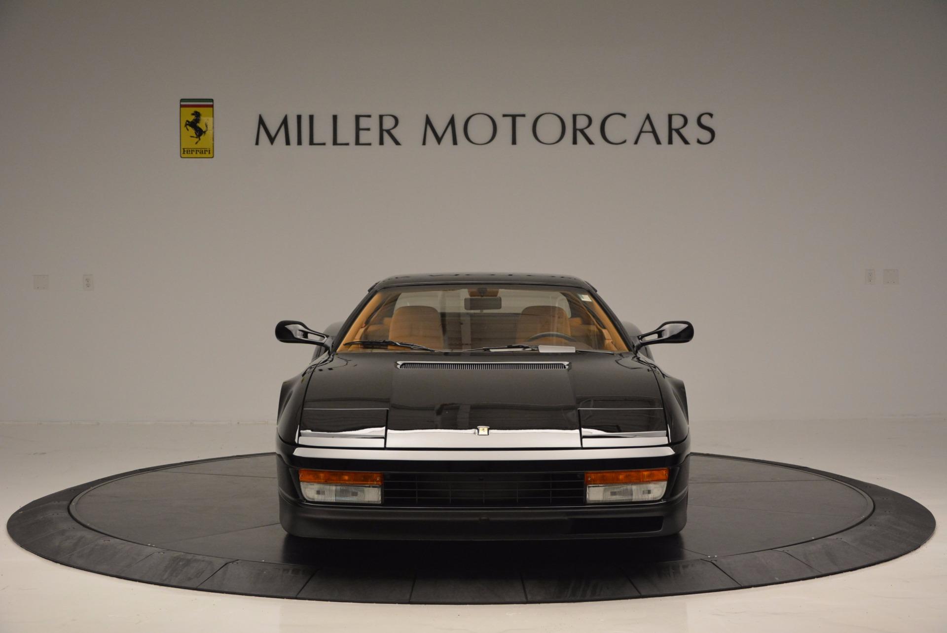 Used 1989 Ferrari Testarossa  For Sale In Westport, CT 622_p12