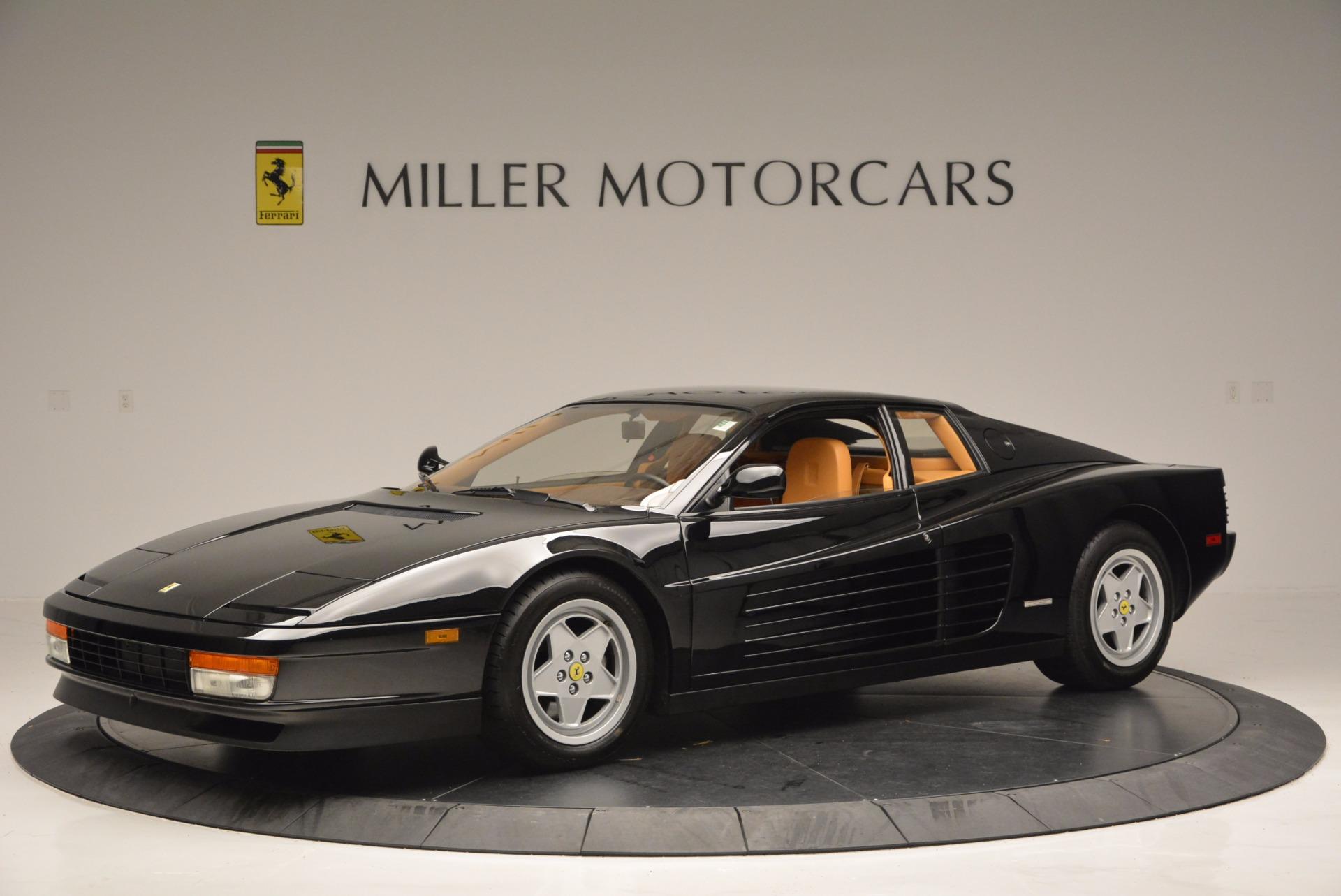 Used 1989 Ferrari Testarossa  For Sale In Westport, CT 622_p2