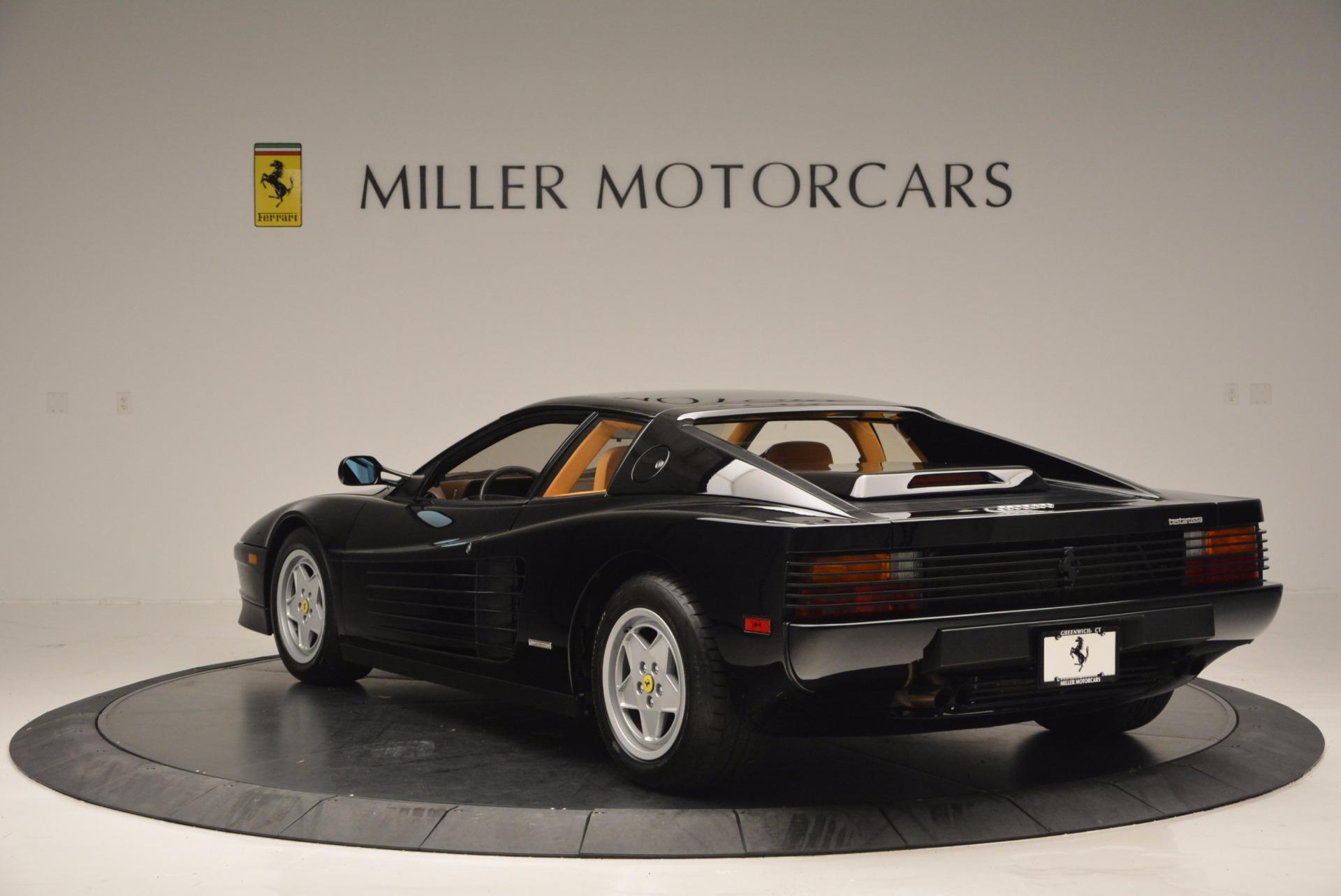 Used 1989 Ferrari Testarossa  For Sale In Westport, CT 622_p5