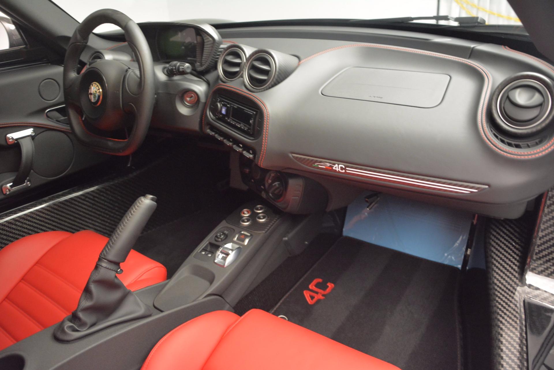 New 2016 Alfa Romeo 4C  For Sale In Westport, CT 624_p17