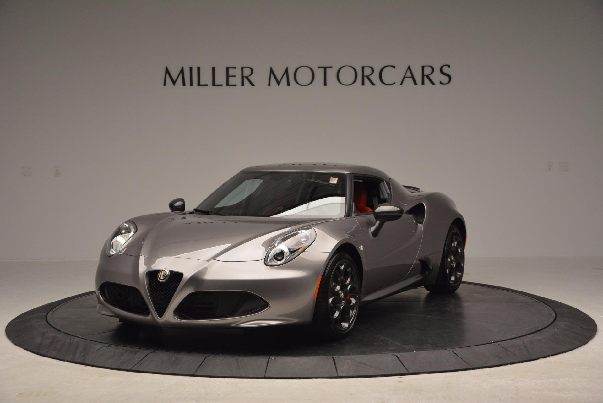 New 2016 Alfa Romeo 4C  For Sale In Westport, CT 625_main
