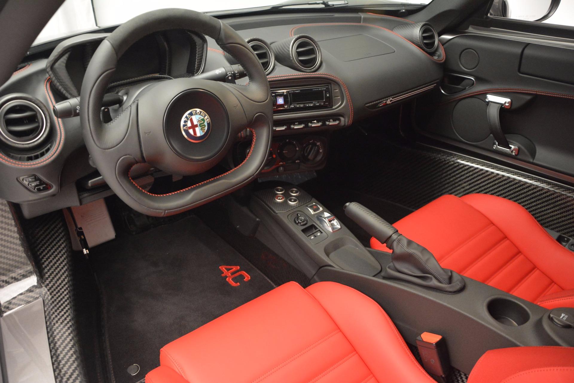 New 2016 Alfa Romeo 4C  For Sale In Westport, CT 625_p13