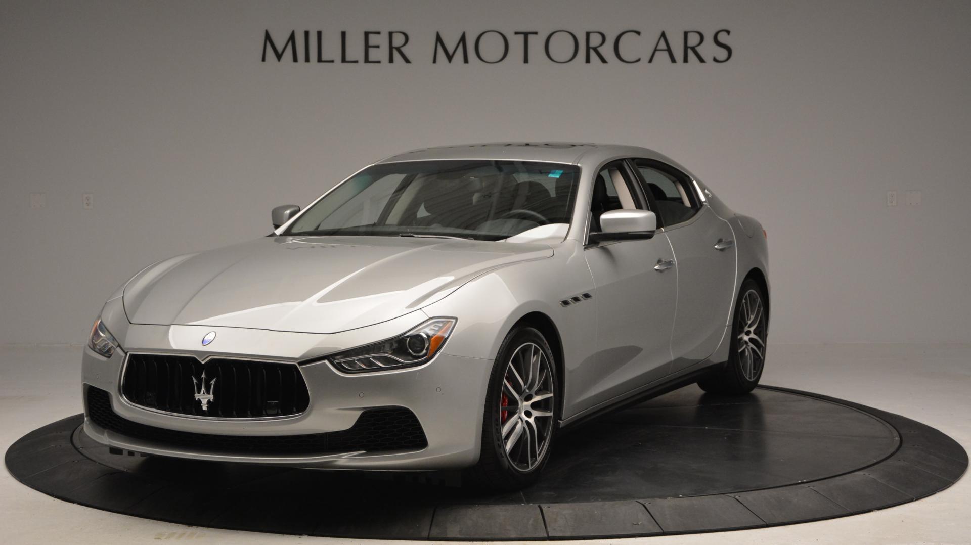 New 2016 Maserati Ghibli S Q4 For Sale In Westport, CT 63_main