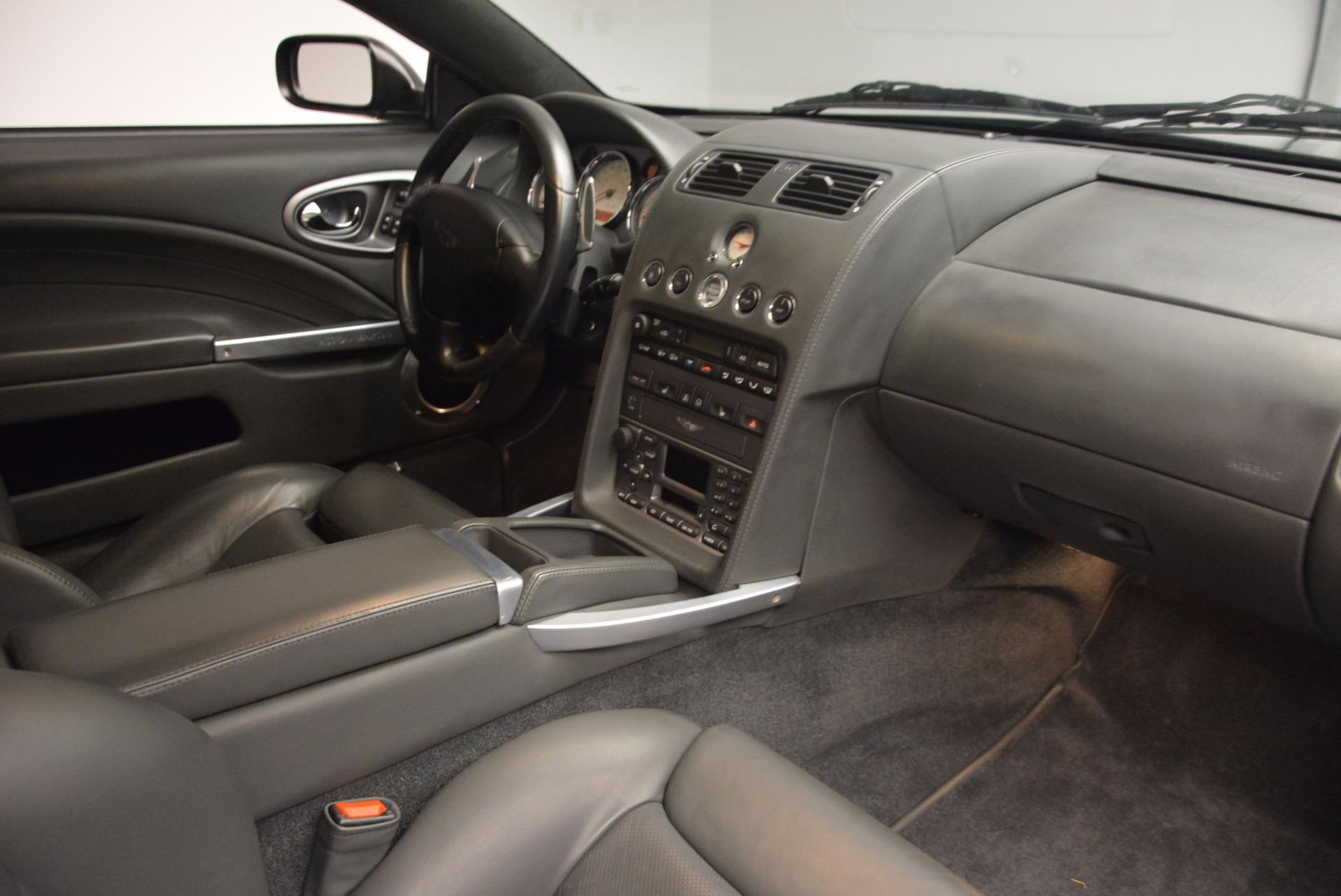 Used 2005 Aston Martin V12 Vanquish S For Sale In Westport, CT 645_p20
