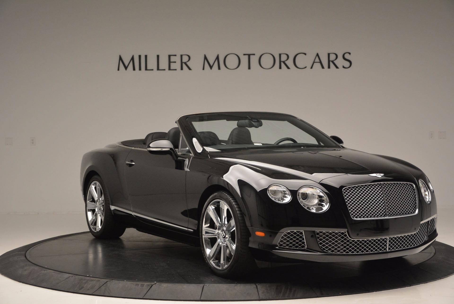 Used 2013 Bentley Continental GTC  For Sale In Westport, CT 646_p12