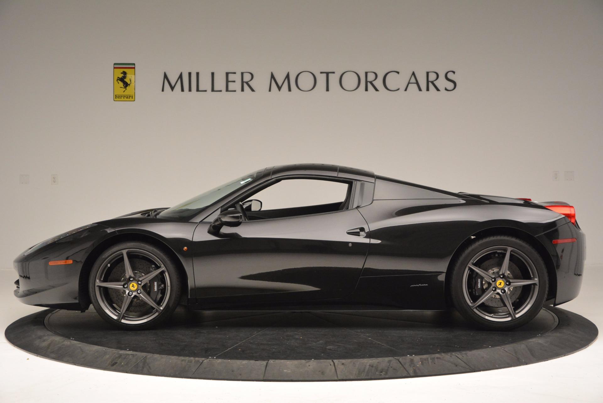 Used 2015 Ferrari 458 Spider  For Sale In Westport, CT 660_p15