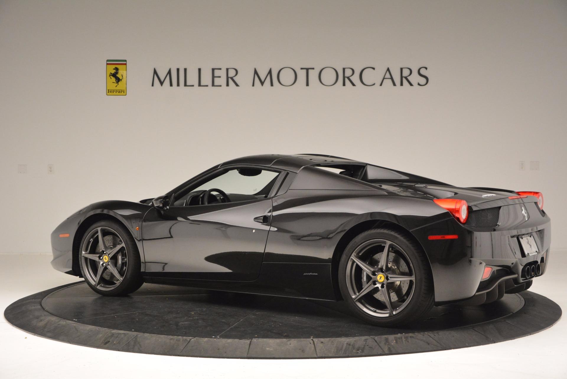 Used 2015 Ferrari 458 Spider  For Sale In Westport, CT 660_p16