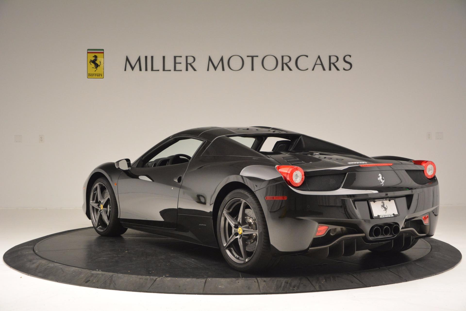 Used 2015 Ferrari 458 Spider  For Sale In Westport, CT 660_p17