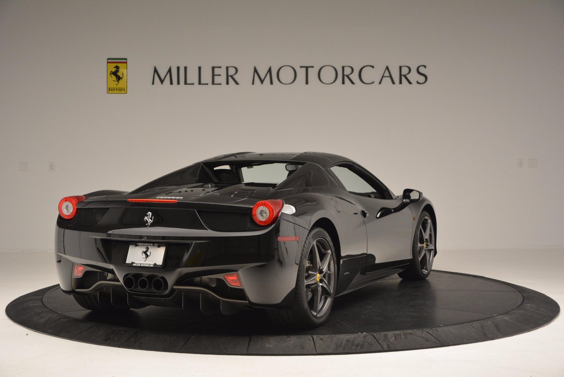 Used 2015 Ferrari 458 Spider  For Sale In Westport, CT 660_p19