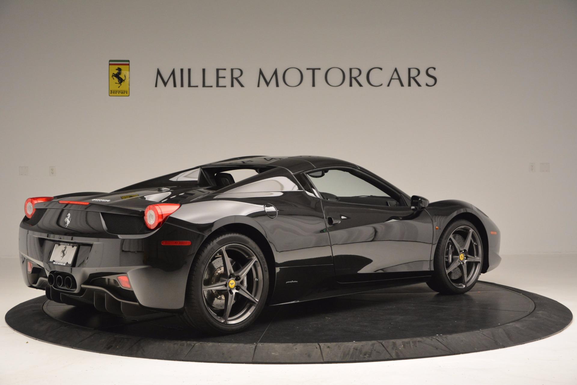 Used 2015 Ferrari 458 Spider  For Sale In Westport, CT 660_p20