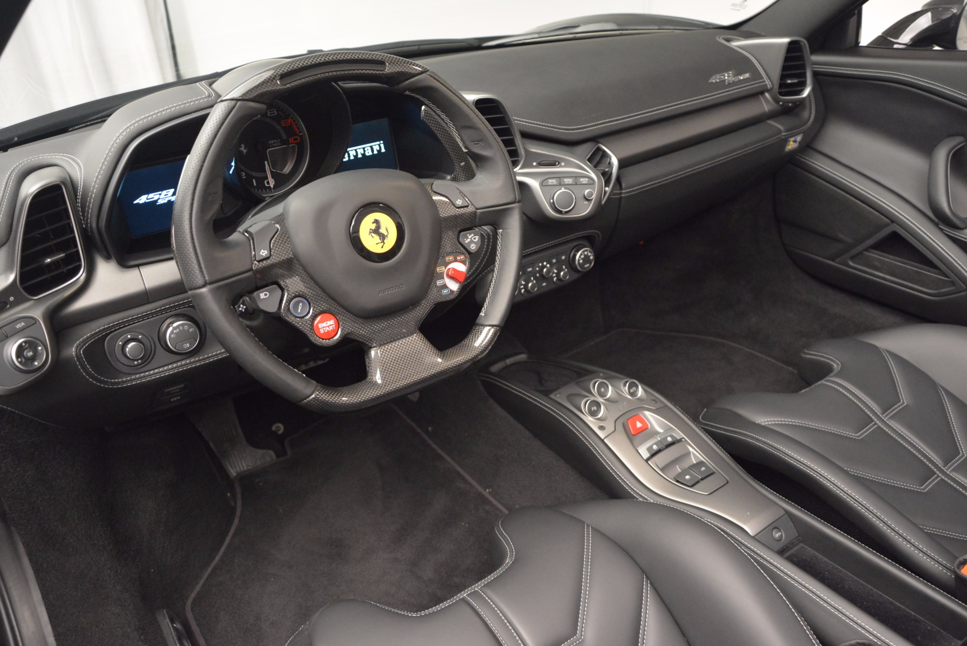 Used 2015 Ferrari 458 Spider  For Sale In Westport, CT 660_p25