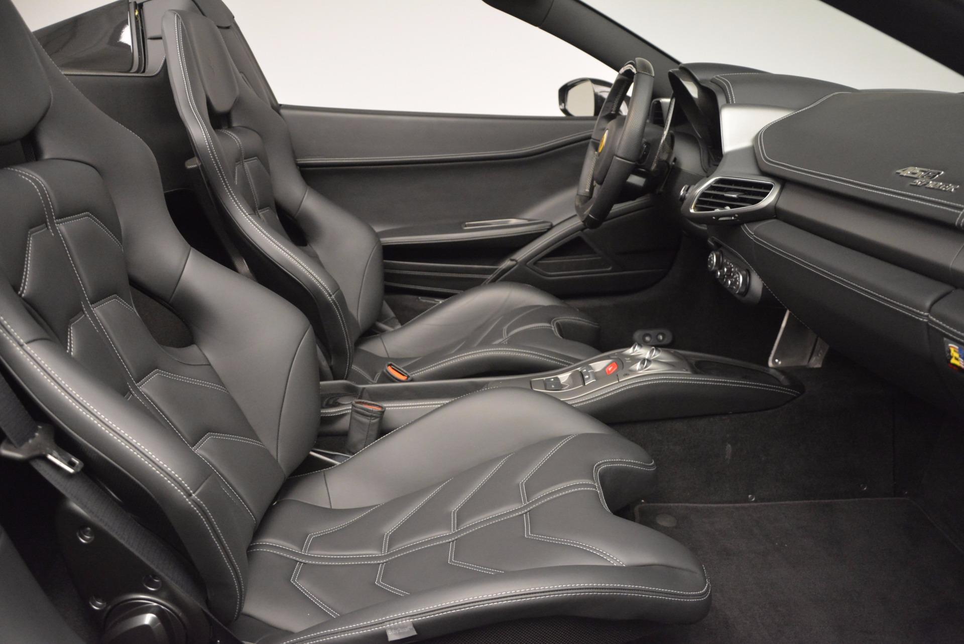 Used 2015 Ferrari 458 Spider  For Sale In Westport, CT 660_p30