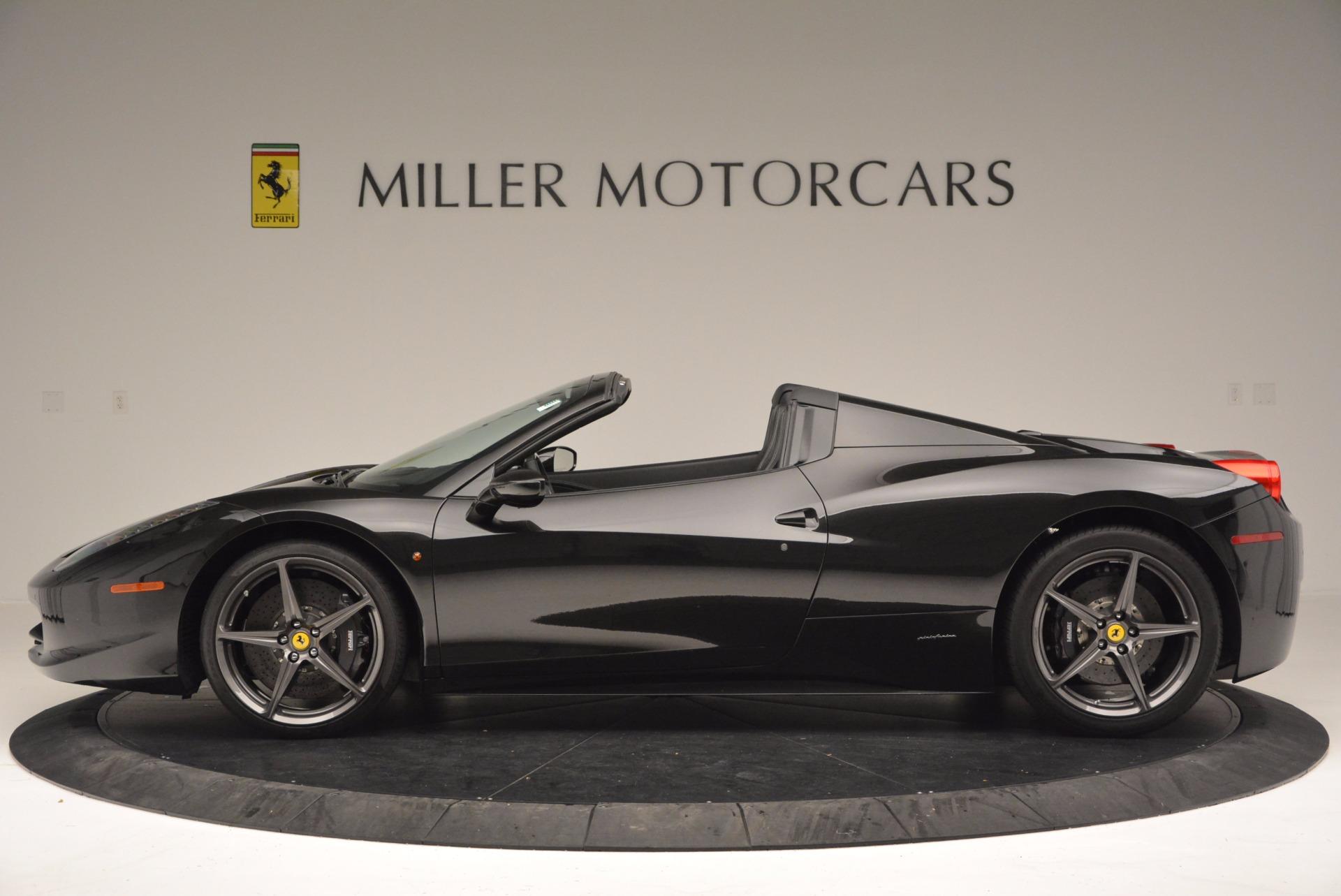 Used 2015 Ferrari 458 Spider  For Sale In Westport, CT 660_p3