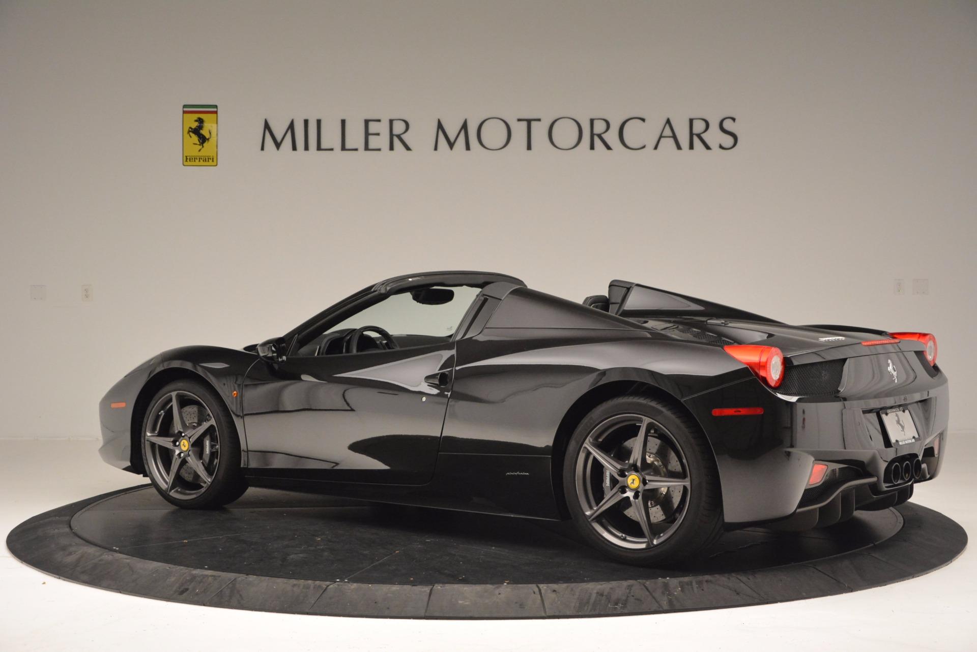 Used 2015 Ferrari 458 Spider  For Sale In Westport, CT 660_p4