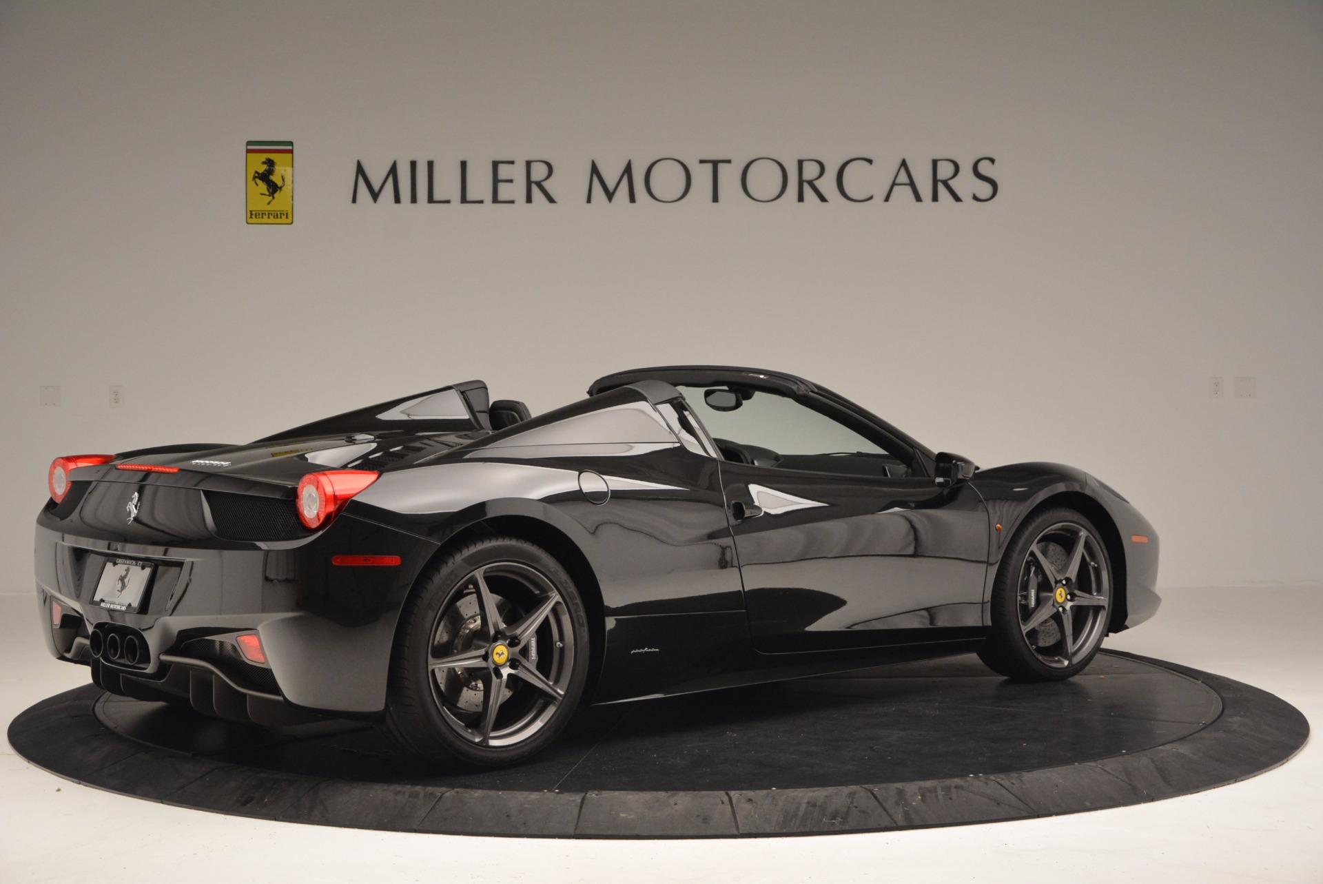 Used 2015 Ferrari 458 Spider  For Sale In Westport, CT 660_p8
