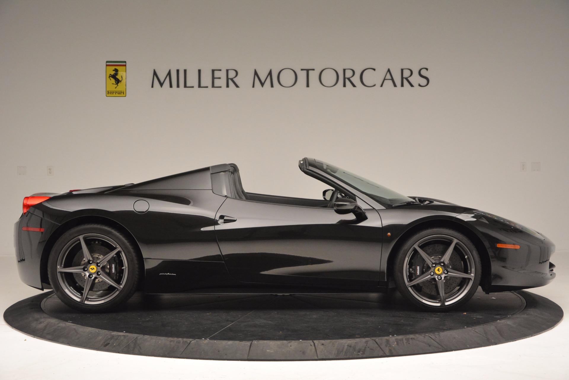 Used 2015 Ferrari 458 Spider  For Sale In Westport, CT 660_p9