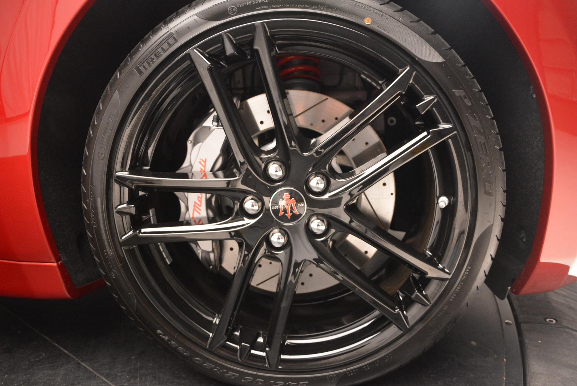 New 2017 Maserati GranTurismo Sport Special Edition For Sale In Westport, CT 666_p37