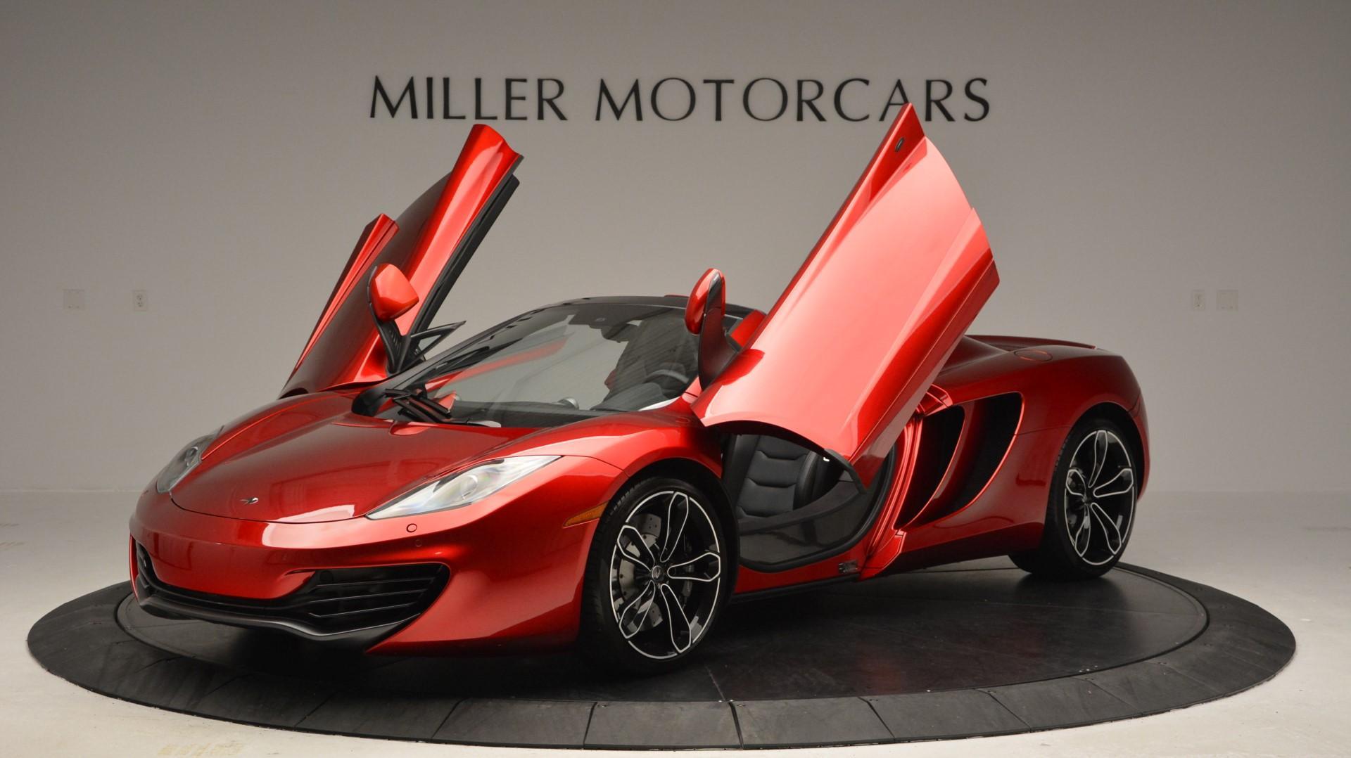 Used 2013 McLaren 12C Spider  For Sale In Westport, CT 67_p14