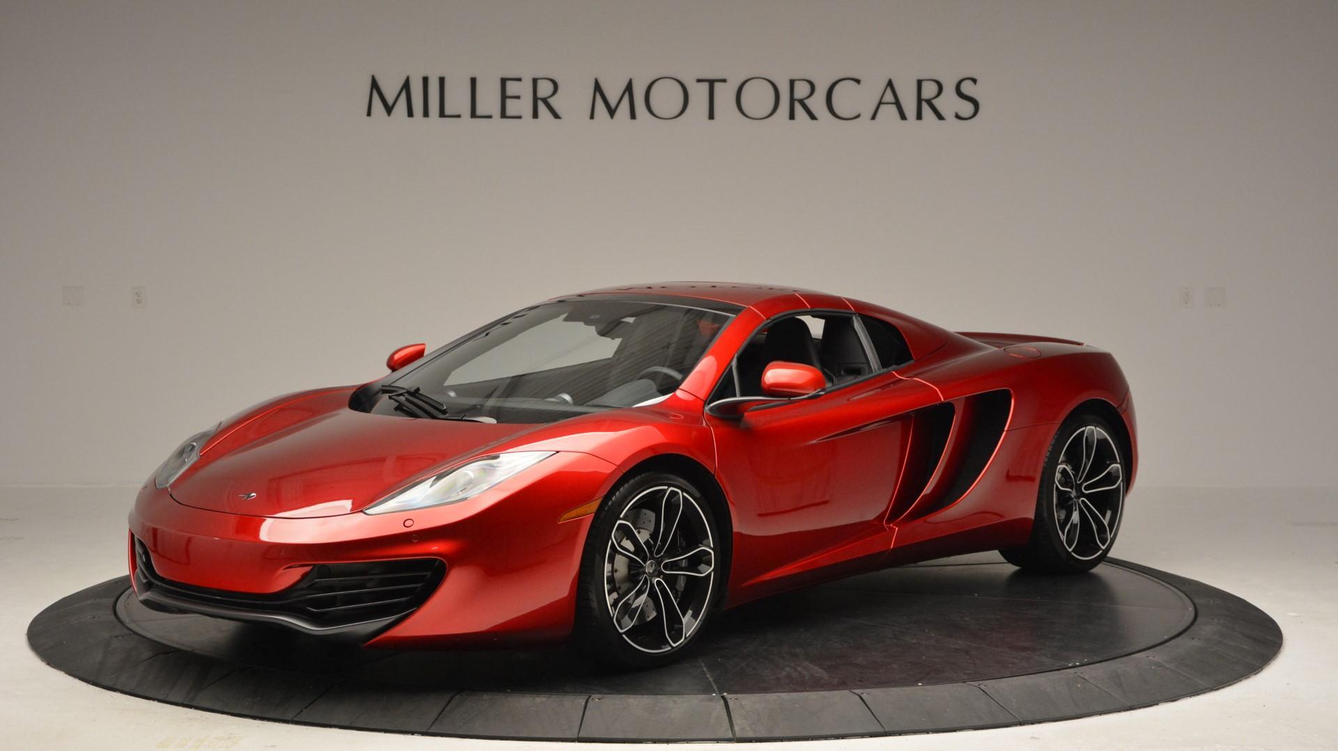 Used 2013 McLaren 12C Spider  For Sale In Westport, CT 67_p15