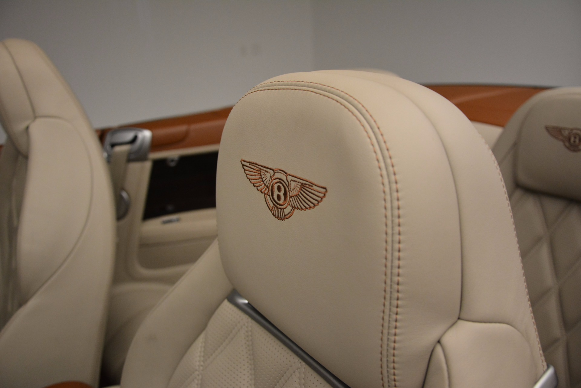 Used 2013 Bentley Continental GTC V8  For Sale In Westport, CT 675_p42