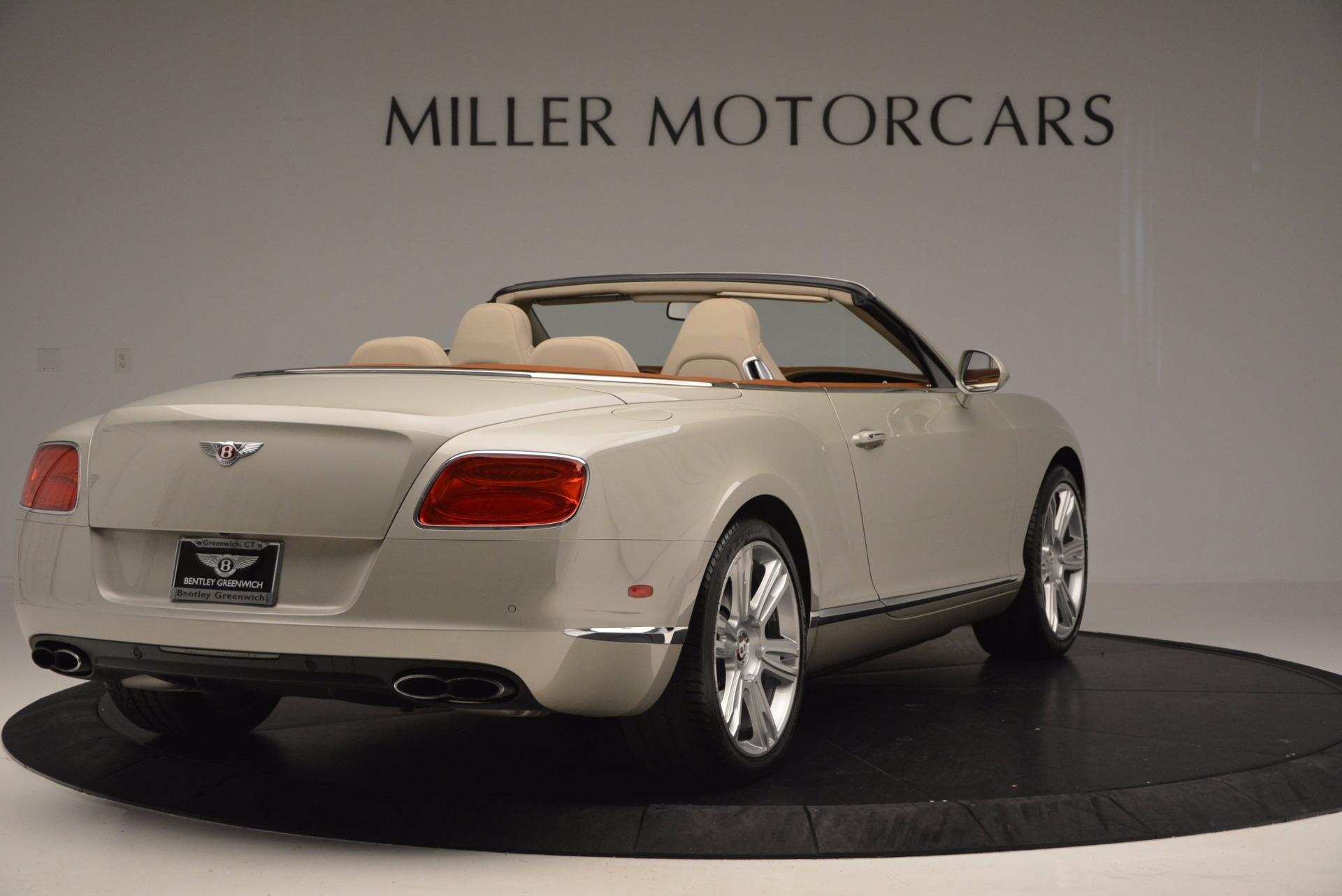 Used 2013 Bentley Continental GTC V8  For Sale In Westport, CT 675_p7