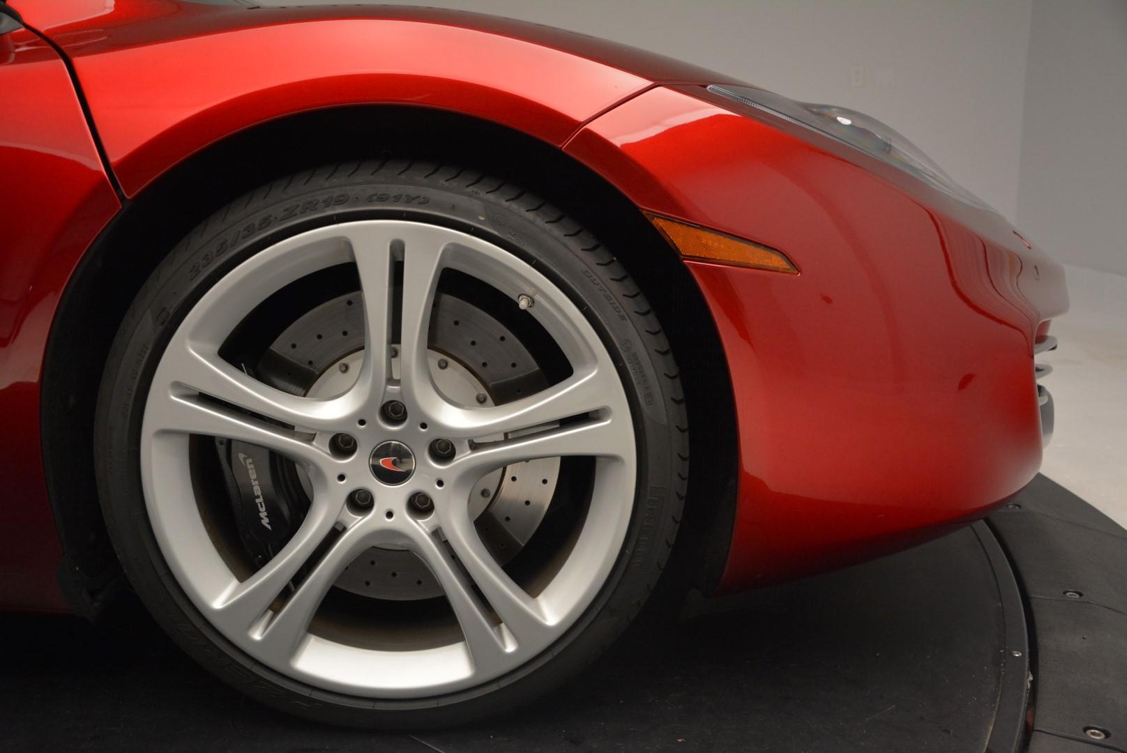 Used 2013 McLaren 12C Spider  For Sale In Westport, CT 68_p28