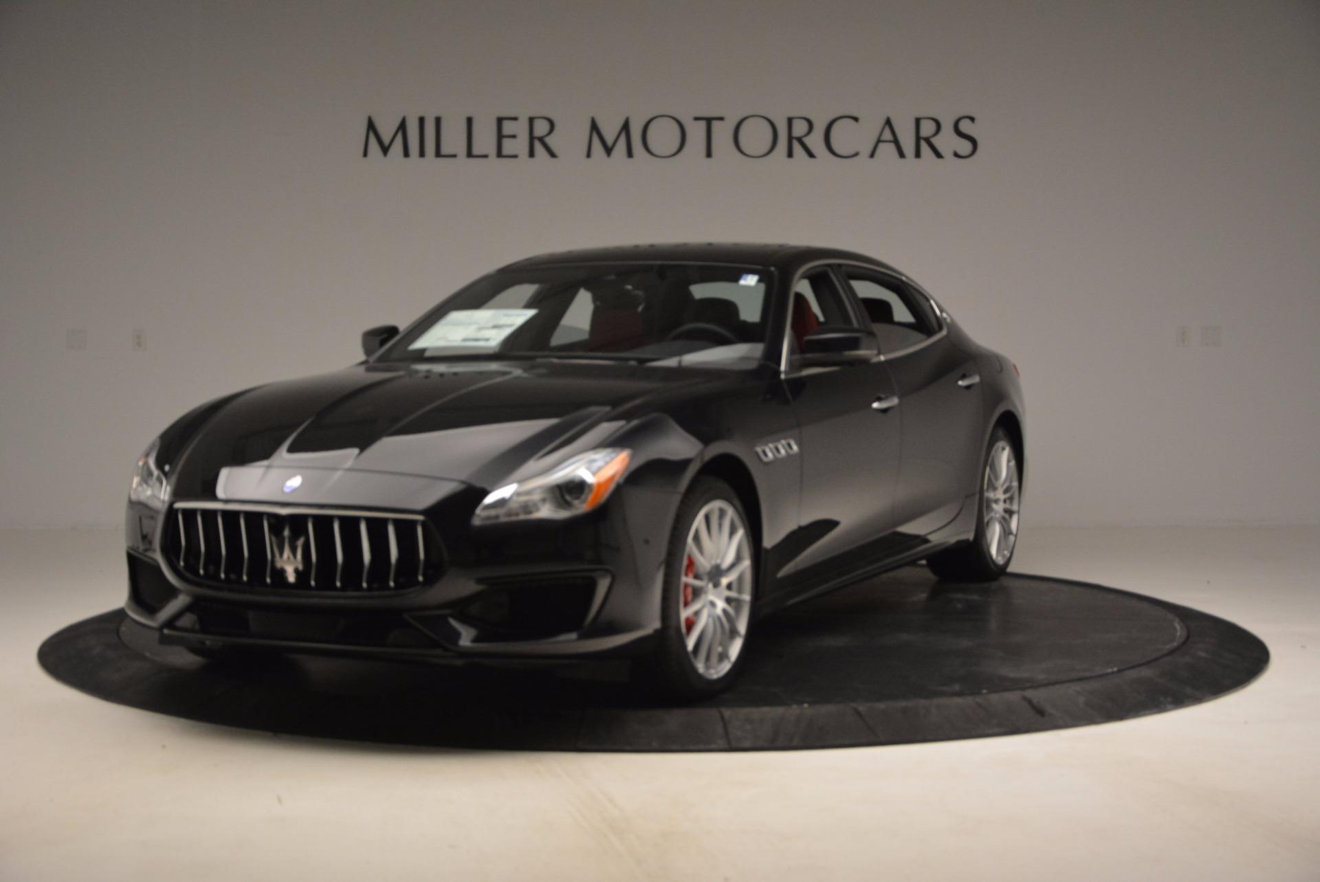 New 2017 Maserati Quattroporte S Q4 GranSport For Sale In Westport, CT 685_main