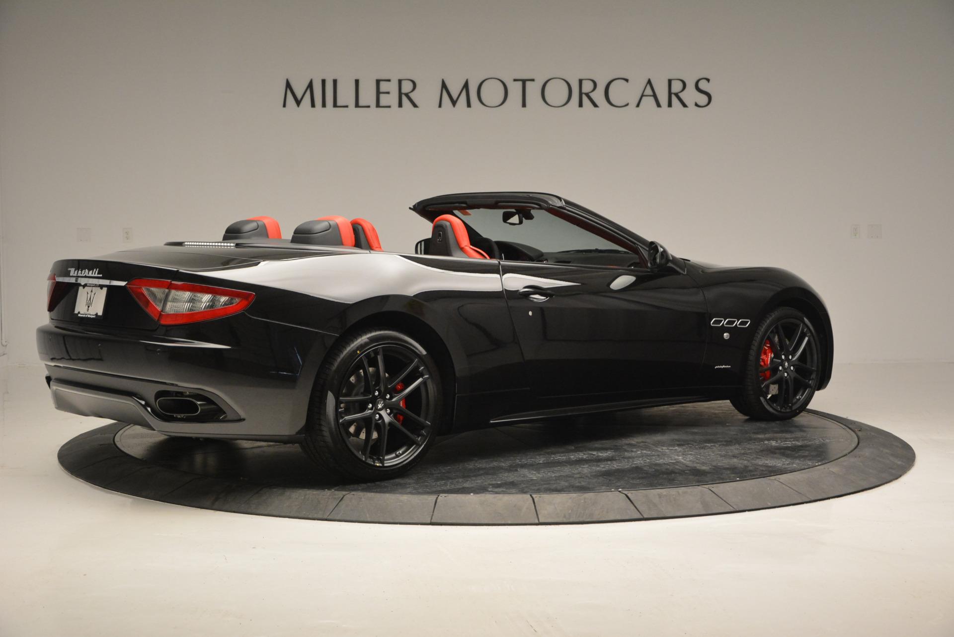 New 2017 Maserati GranTurismo Cab Sport For Sale In Westport, CT 687_p11
