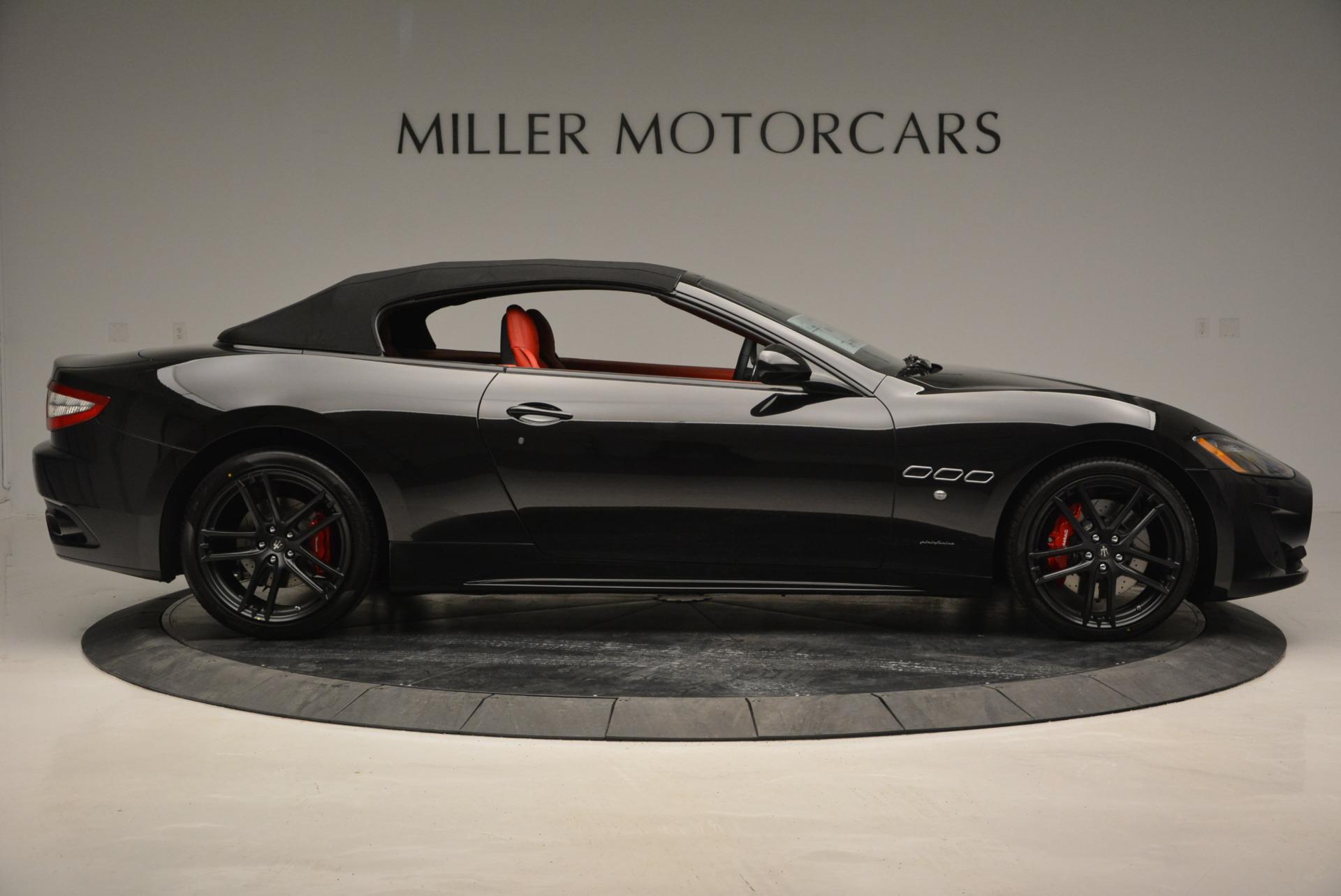 New 2017 Maserati GranTurismo Cab Sport For Sale In Westport, CT 687_p13