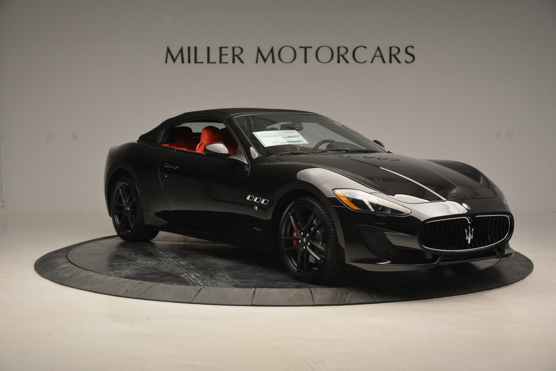 New 2017 Maserati GranTurismo Cab Sport For Sale In Westport, CT 687_p16