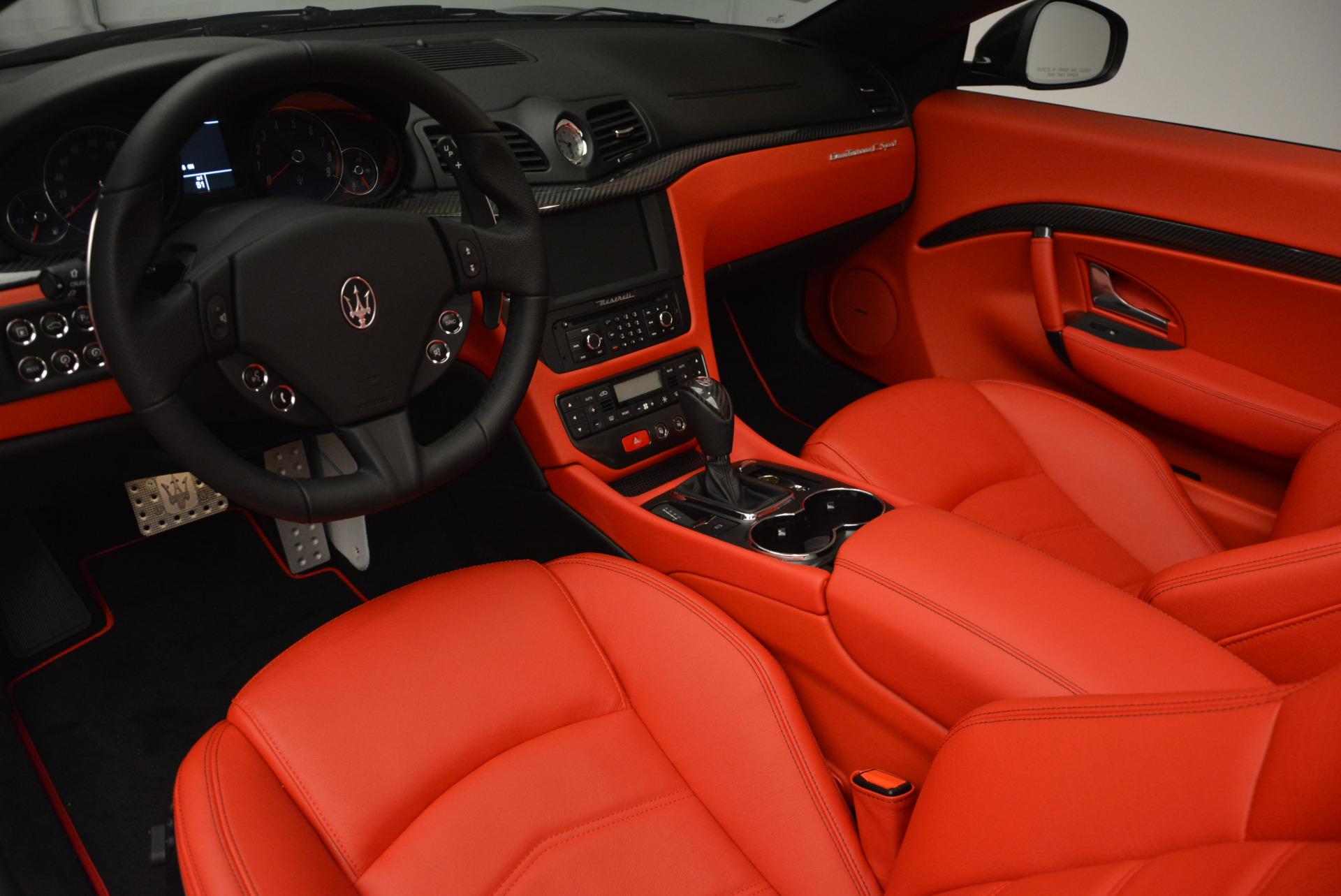 New 2017 Maserati GranTurismo Cab Sport For Sale In Westport, CT 687_p20