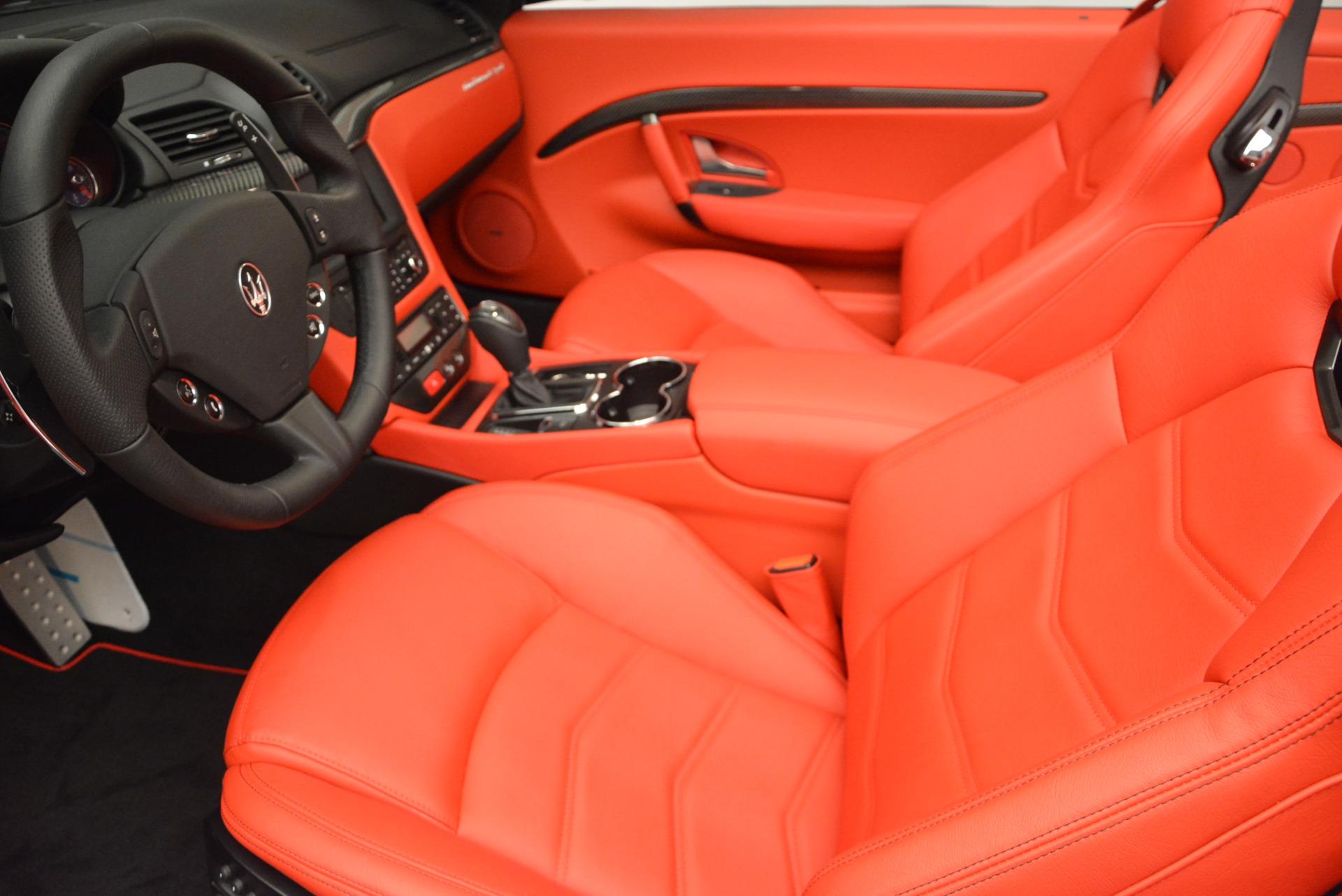 New 2017 Maserati GranTurismo Cab Sport For Sale In Westport, CT 687_p21