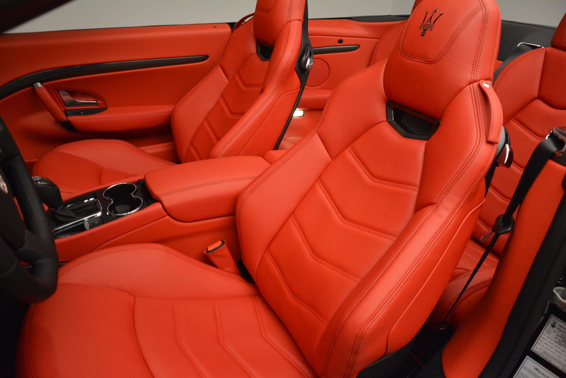 New 2017 Maserati GranTurismo Cab Sport For Sale In Westport, CT 687_p22